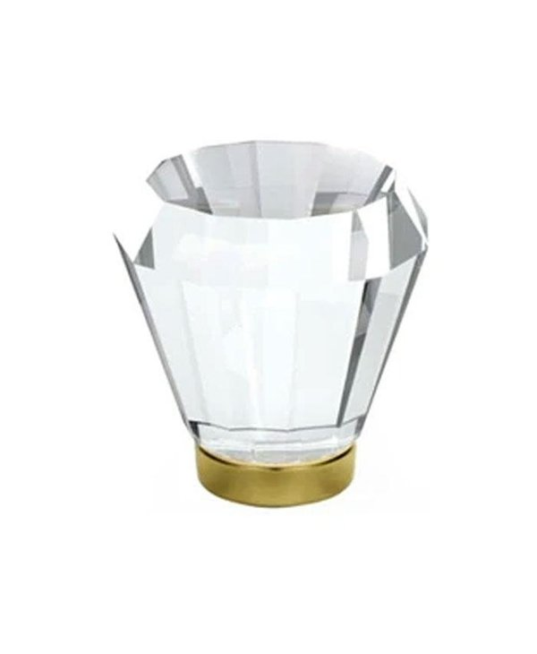 Brookmont Clear Crystal Cabinet Knob
