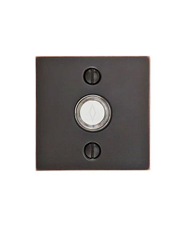 Modern Square Door Bell Button