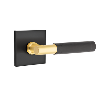 T-Bar Lever Select with knurled Lever On Square Rosette