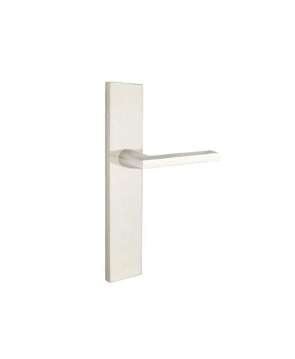 """Keyed 2"""" X 10"""" Modern Rectangular Multipoint Trim With Helios Lever"""