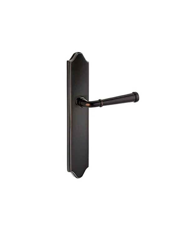"""Keyed 2"""" X 10"""" Arched Multipoint Trim With Merimack Lever"""