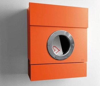 Wall Mount Letterman 2 Mailbox