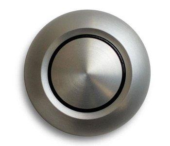 True Aluminum Door Bell Button
