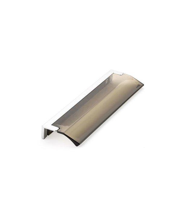 Positano Smoked Acrylic Edge Pull