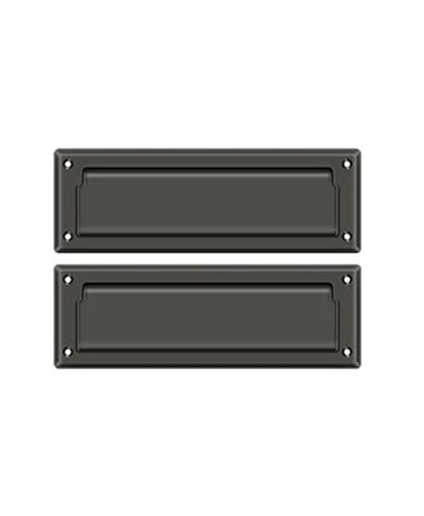 """Traditional  8 7/8"""" Back To Back Mail Slot"""