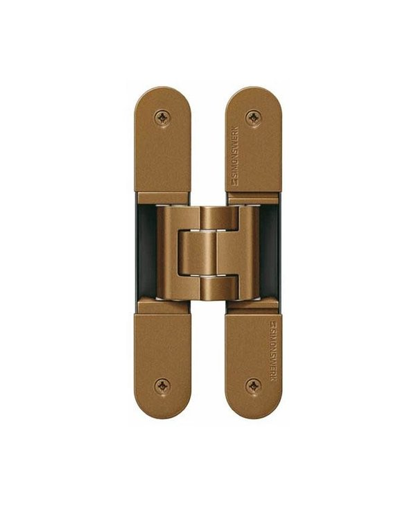 CONCEALED SIMONSWERK TECTUS HINGE Bronze - TE 541 3D FVZ