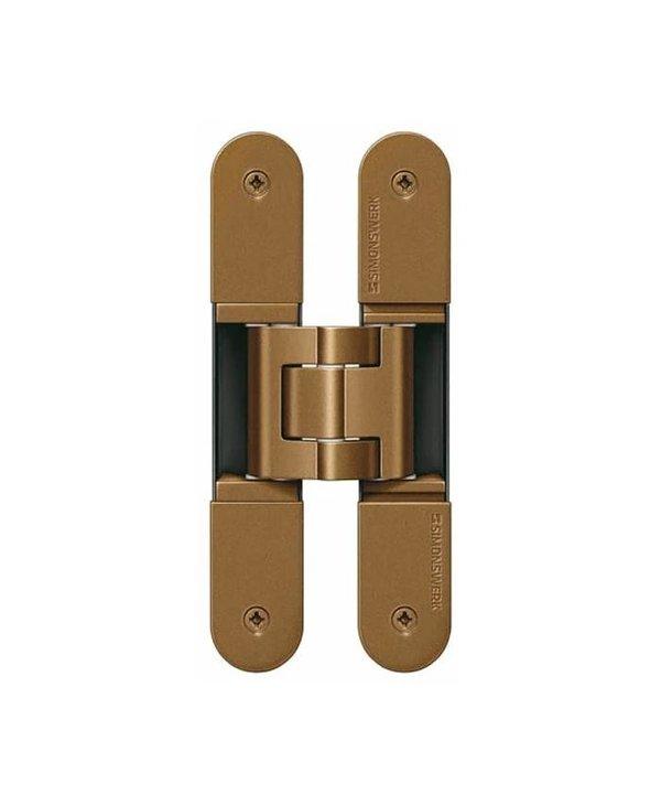 TE 540 3D - Concealed Simonswerk TECTUS Hinge Bronze Series