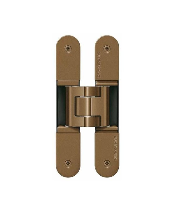 TE 340 3D - Concealed Simonswerk TECTUS Hinge Bronze Series