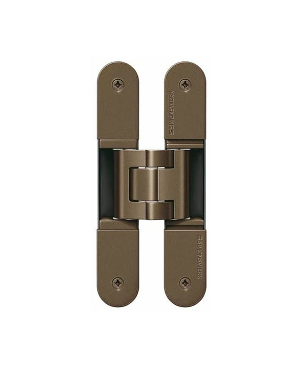 TE 240 3D - Concealed Simonswerk TECTUS Hinge Bronze Series