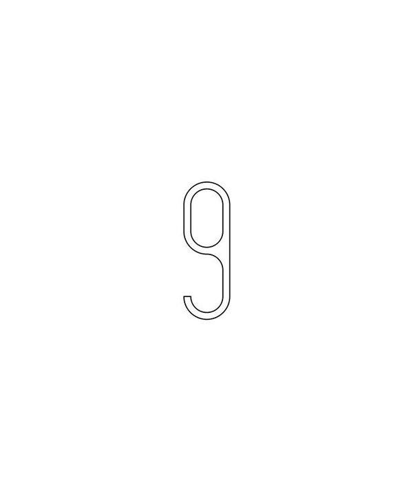 Modern Aluminium  House Numbers