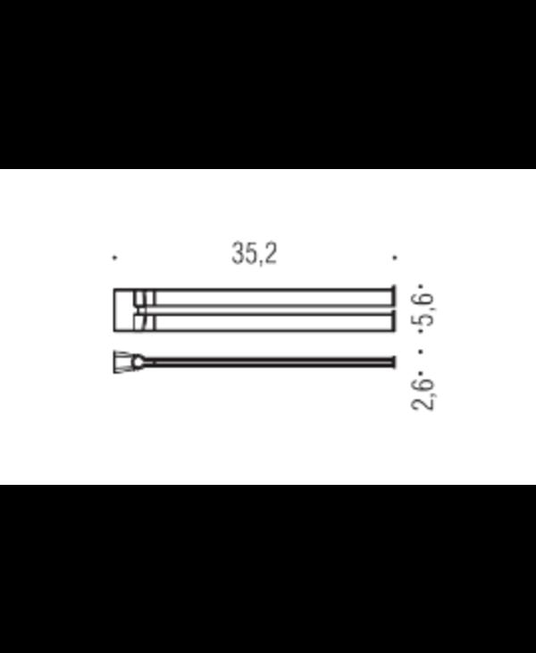 Double Bar Towel Holder - Trenta