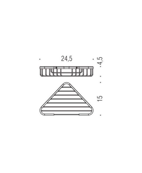 Basic Single Corner Basket B2734
