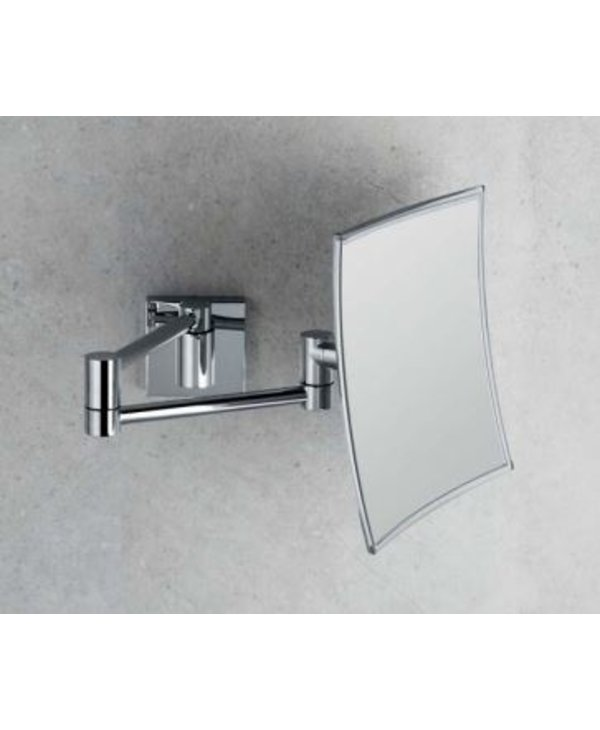 Wall Magnifying Mirror Square