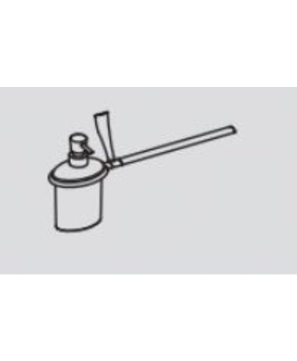 Land Soap Dispenser And Towel Holder For Bidet