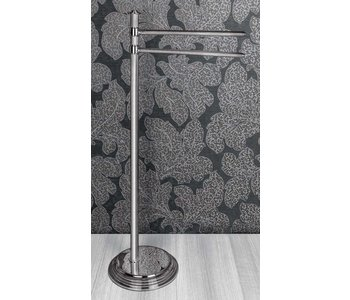 Hermitage Standing Column With Two Towel  Holders