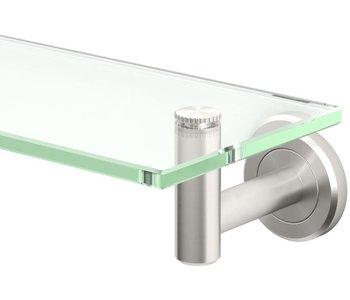 Latitude II Minimalist Glass Shelf