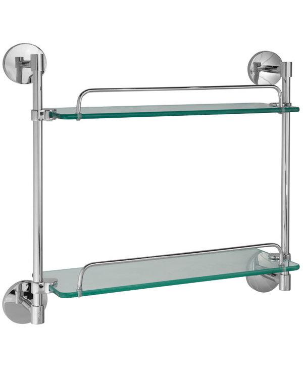 Classic-R Double Glass Shelf