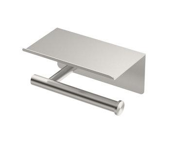 Latitude II Toilet Paper Holder w/ Mobile Shelf