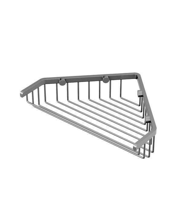 """Corner Shower Basket 9.25"""""""