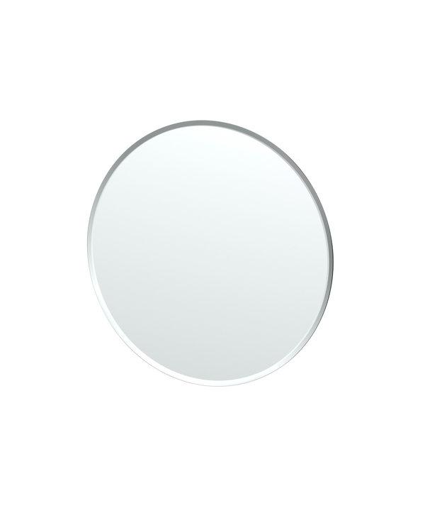 Flush Mount Round Mirror