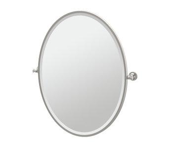 Tavern Framed Oval Mirror
