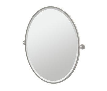 Zone Framed Oval Mirror