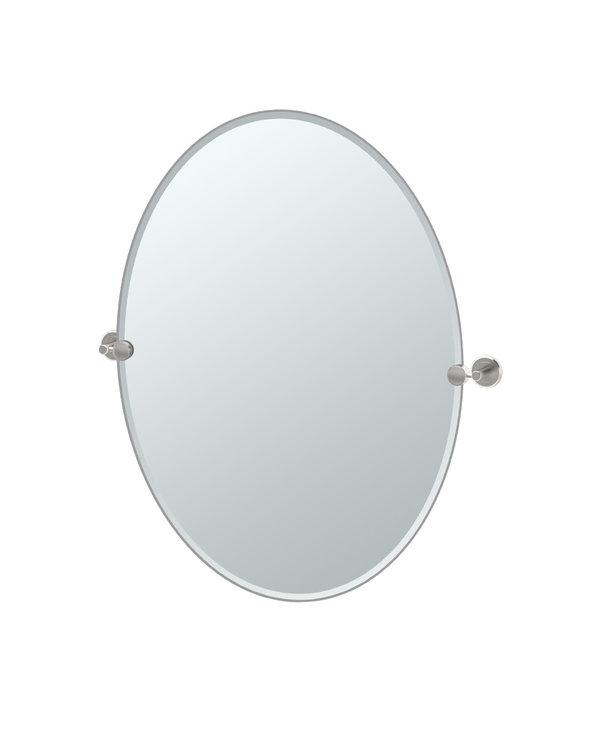 Latitude II Oval Mirror