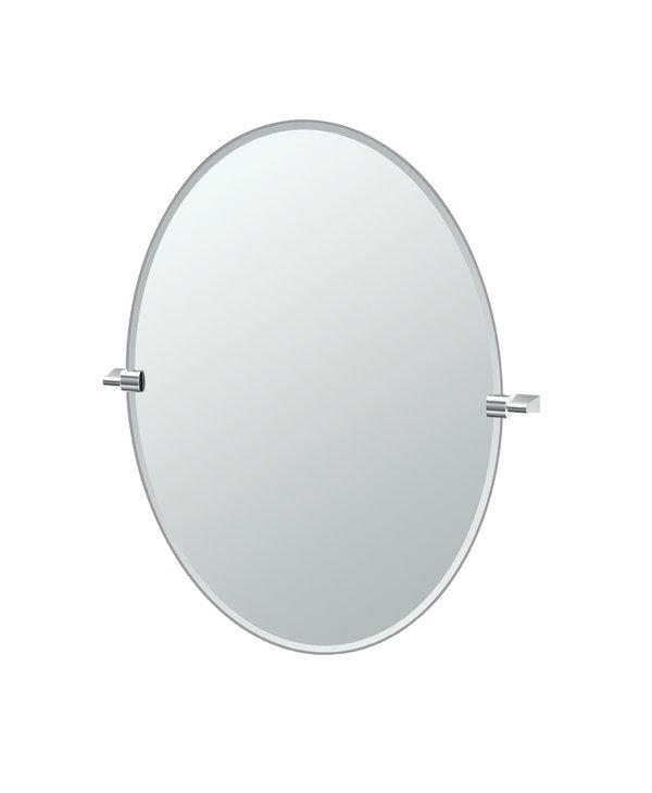 Bleu Oval Mirror