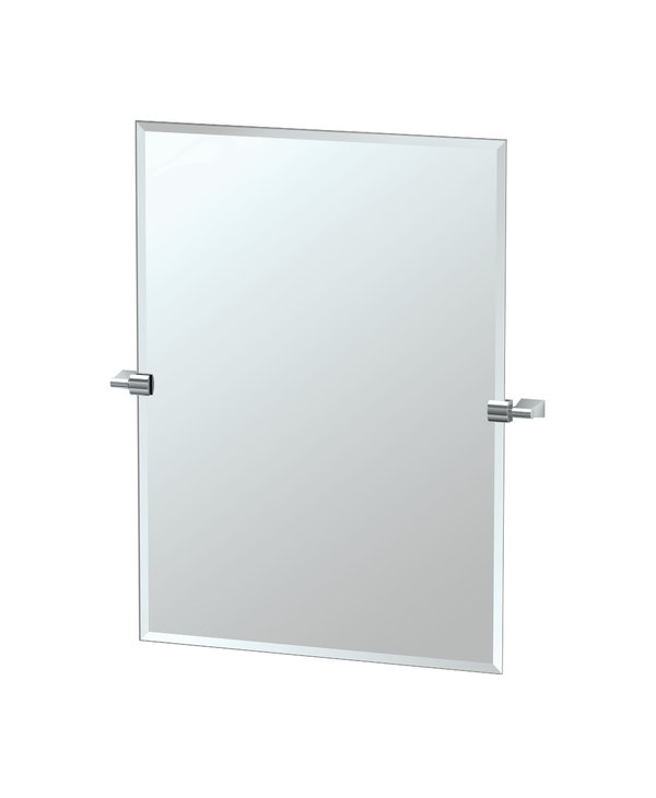 Bleu Rectangle Mirror