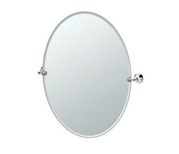 Laurel Avenue Oval Mirror