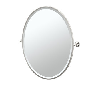 Laurel Avenue Framed Oval Mirror