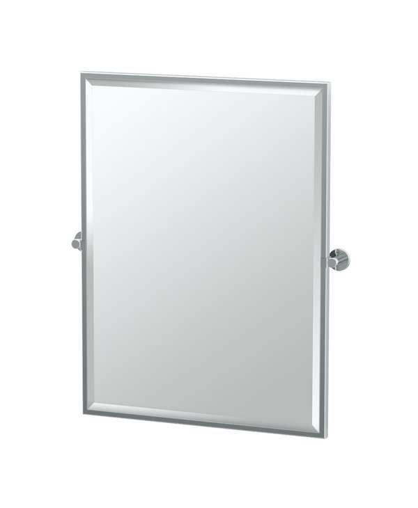 Channel Framed Rectangle Mirror