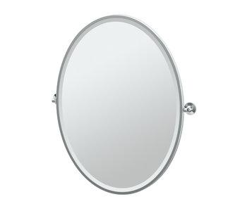 Max Framed Oval Mirror