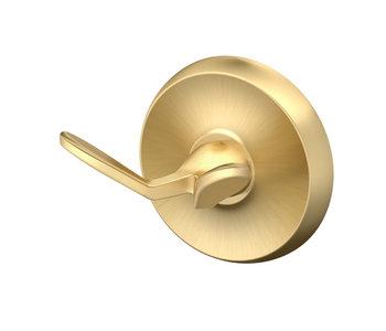 Designer II Robe Hook- Satin Brass