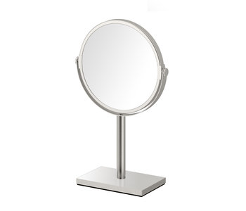 Round Table Mirror with Square base