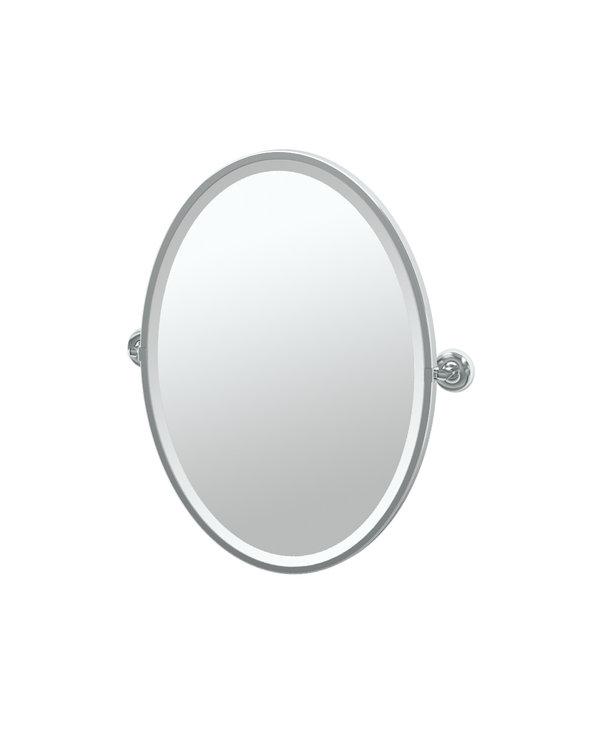 Designer II Framed Oval Mirror