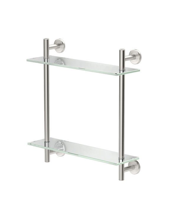 2-Tier Glass Shelf