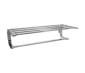 Towel Shelf with Single Bar 3462