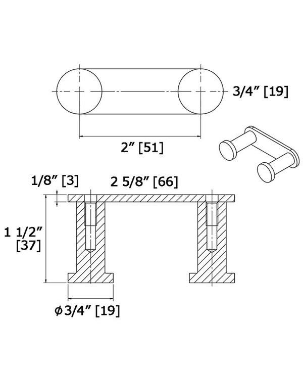Double Hook Strip 2605-2