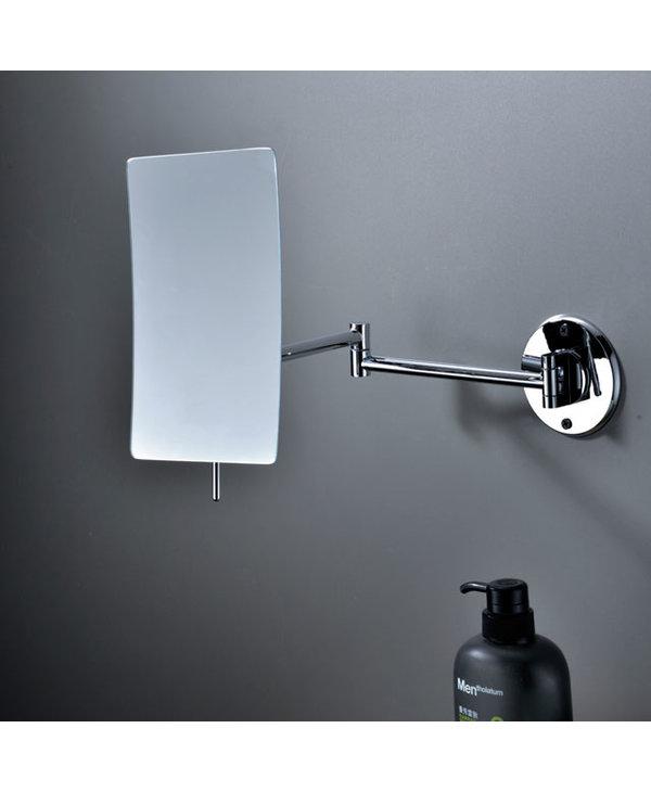Non-Lit Wallmount Frameless Swing Mirror 2103