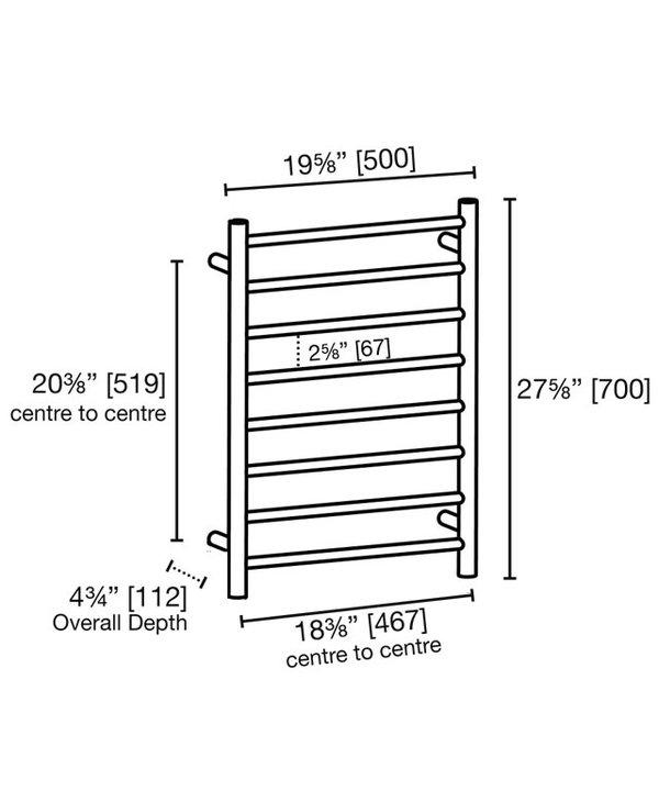 8 Bar Towel Ladder 4800R