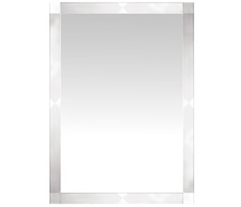 Etched Frosted Framed Mirror M00633