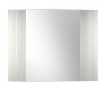 Mirror with Parallel and Graded Etched Frame M22005