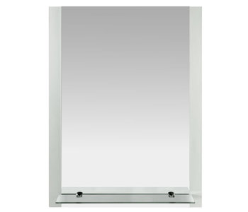 Parallel Frosted Mirror with Shelf M31005