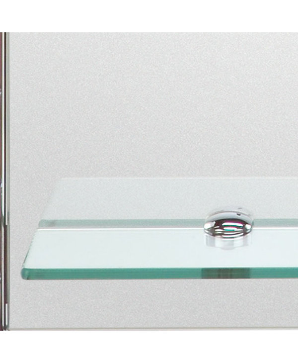 Double Layered Mirror with Shelves H00165