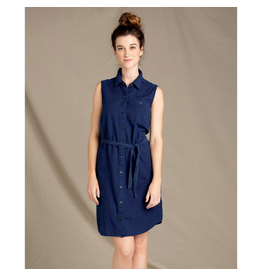 Toad & Co. Toad & Co. Indigo Ridge Sleeveless Tie Dress Women's