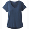 Prana prAna Foundation SS V-Neck Top Women's