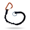 Level Six Level Six Shock Leash w/ Carabineer 2 ft extends to 4 ft