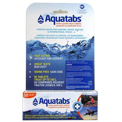 Aquatab Aquatab Tablets, Pack of 50, 1L Tabs