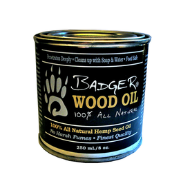 Badger Paddles Badger Wood Oil - 250 ml Tin